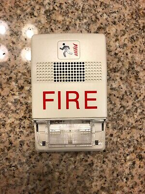 Edwards Est G1f-hdvm Multi-cd Horn Strobe Fire Alarm