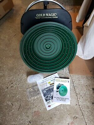 Gold Magic Spiral Gold Panning Prospecting Recovery 12v Electric