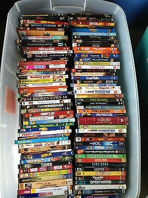 25 Mainstream DVDs Wholesale Lot /w Free Shipping!