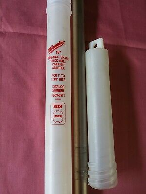 Milwaukee 18in Sds-max Thick Wall Core Bit 48-03-3571