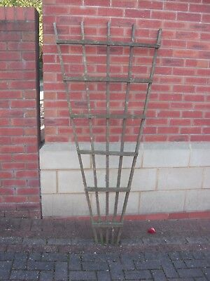 Wooden Trellis V Shape Climbing Plant Support Frame Used for sale  United Kingdom
