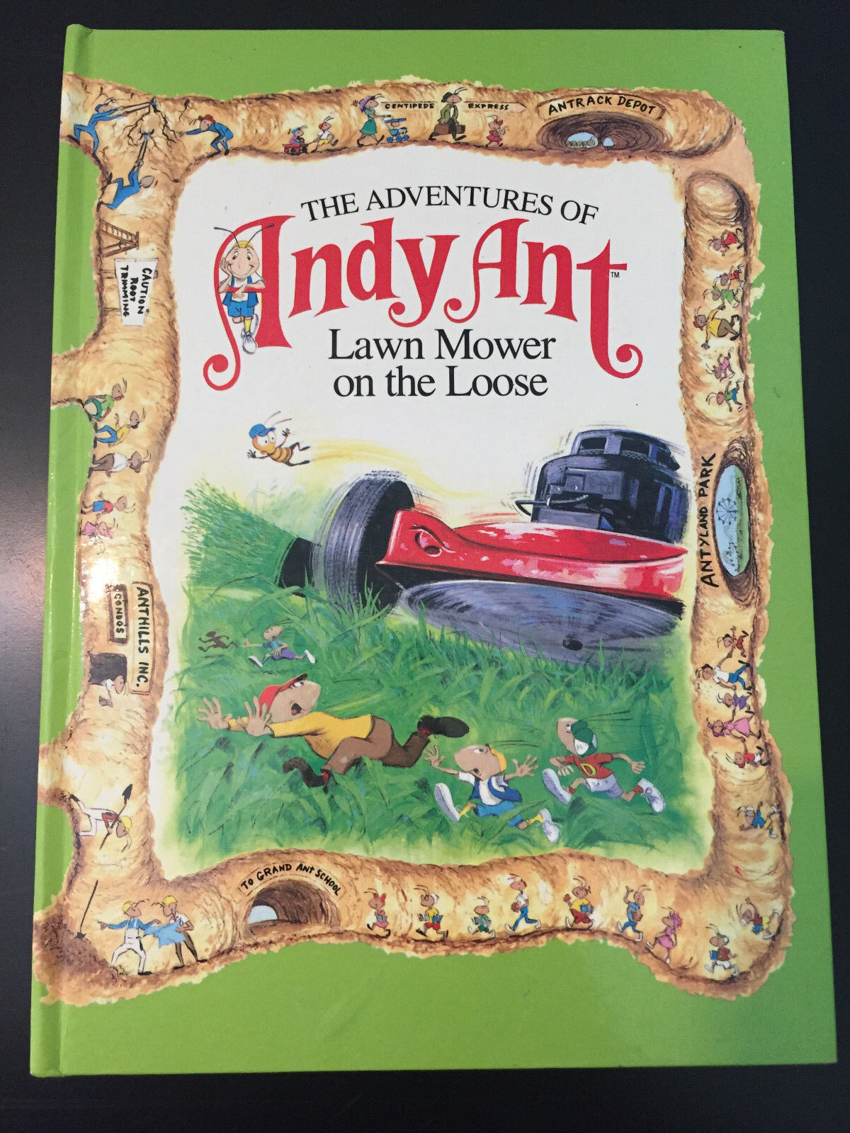 the adventures of andy ant lawn mower