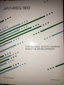 The global south, human rights & development