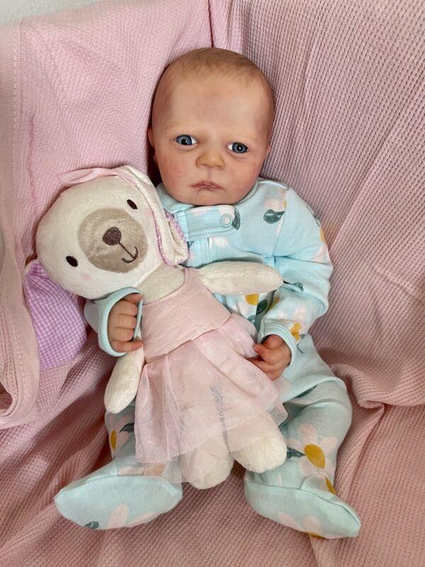 Realborn Pearl Awake - Reborn Baby Doll - Very Sweet!