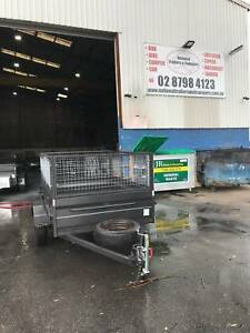 7x5 high side trailer 600mm cage spare wheels 12month rego Smithfield Parramatta Area Preview