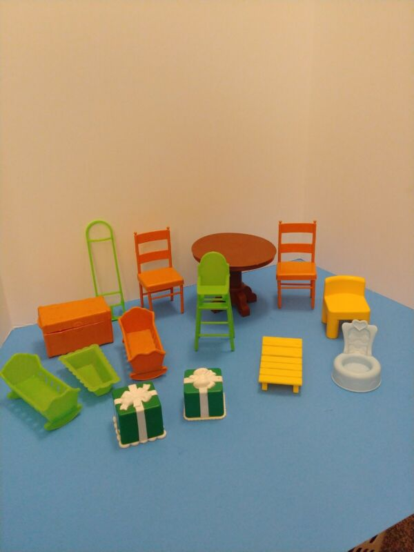 Vintage Mixed lot of Little Tikes and Mattel furniture
