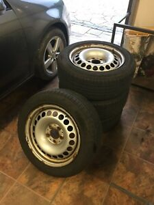 205 65 16 rims and tires-great shape!
