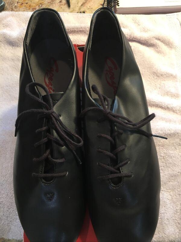 Men's Jazz Tap Shoes Black Sz 11 1/2W