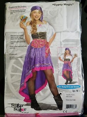 Gypsy Magic Girl Costume by - Gypsy Girl Costume