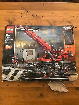 LEGO 42082 Technic Rough Terrain Crane NEW BUT BOX IS A MESS!!! READ DESCRIPTION