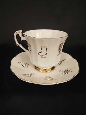 no cup COPY of Instructions for the Wimsatt Chinese Fortune Teacup
