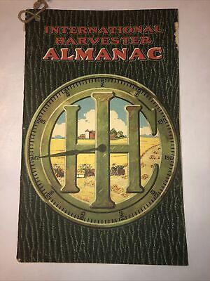 1917 International Harvester Almanac Encyclopedia Hit Miss Stationary Engine