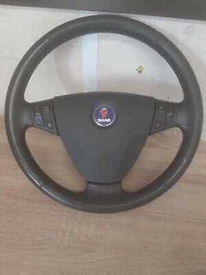 Saab 93 2005 steering wheel and airbag f2