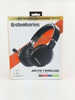 SteelSeries Arctis 1 Wireless Gaming Headset - Black (61512) New