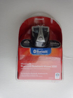 Microsoft Bluetooth Notebook Mouse 5000 - Black For Windows & Mac for sale  Shipping to India