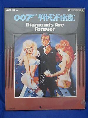DIAMONDS ARE FOREVER:JAMES BOND 007 - Japanese original VHD VIDEO DISC