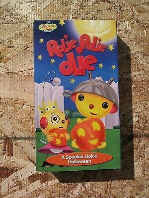 Walt Disney's ROLIE POLIE OLIE A Spookie Ookie Halloween VHS VIDEO Rare HTF - Rolie Polie Olie Halloween