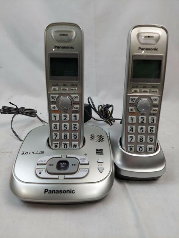 Panasonic KX-TG4023N 2 Handsets Single Line Cordless Phone EB-4174