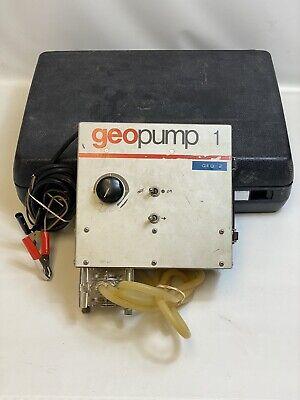 Geotech Geopump 1 Peristaltic Pump W Masterflex 7015 Head -free Us Shipping-