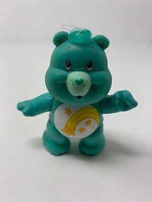 Vintage Care Bears Poseable Figure Wish Bear 1983 Kenner Shooting Star](Care Bears Wish Bear)