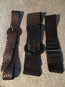 Stylish waist belts