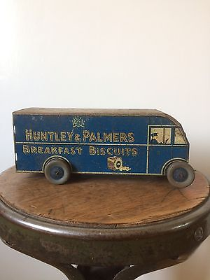 Huntley and Palmers Tribrek Lorry Biscuit Tin 1937