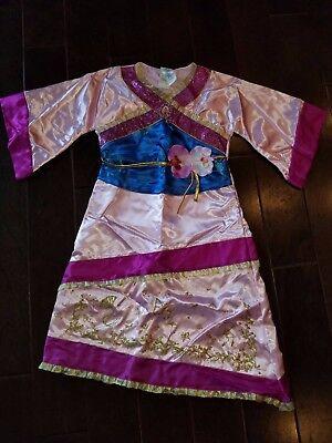 Disney Mulan Costume Size 7/8](Disney Mulan Costume)