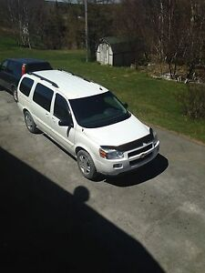 2008 Chevy Uplander LT ext for parts or repair.   MUST GO!