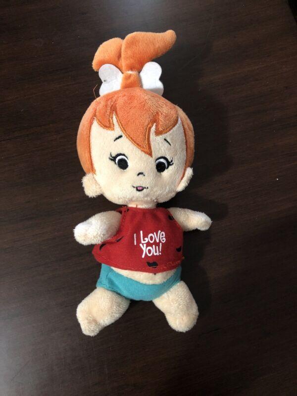 Hanna Barbera Flintstones Pebbles Doll Plush Toy Cartoons