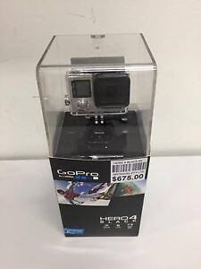 Mint GoPro Hero4 Black Video Camera 4k with 62 pieces accessories Indooroopilly Brisbane South West Preview