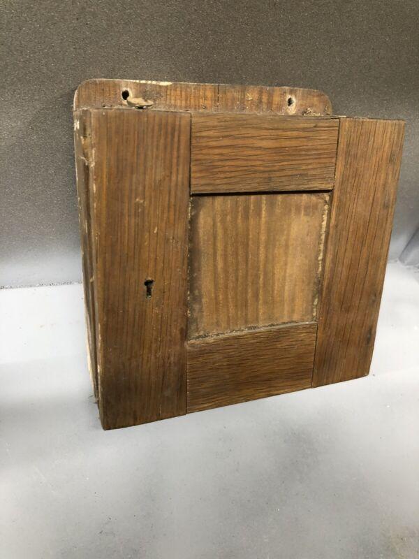 Barn Find Oak Antique Electrical Box