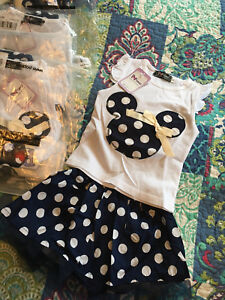 7 Available **Girls 18-24 mths Minnie Mouse Outfit