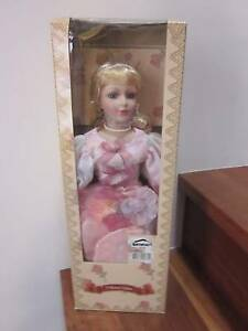 Collectors Choice Bisque Porcelain Doll Still in Box wrapped North Perth Vincent Area Preview