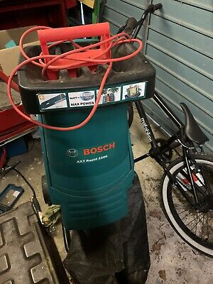 Bosch AXT 2200 Impact Shredder 2200W - used with Collection Bag
