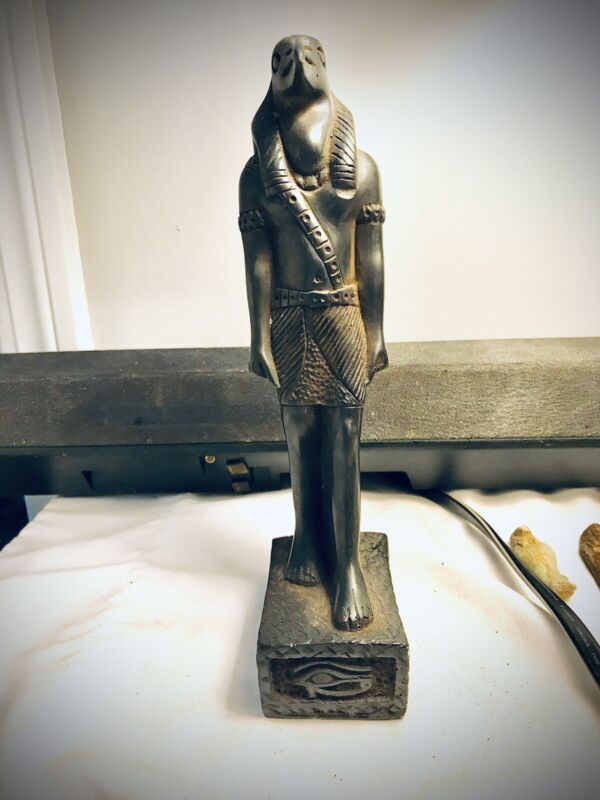 Ancient Egyptian Ebony Figurine Of Set Lord Of The Devil from circa 1865-1653 BC