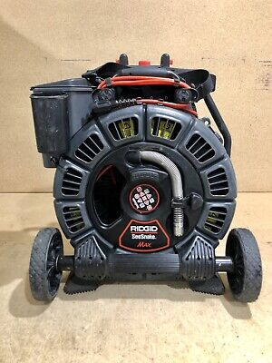 Ridgid 42348 Seesnake Max Rm200a Sewer Camera With Reel And Drum170 Push Cable
