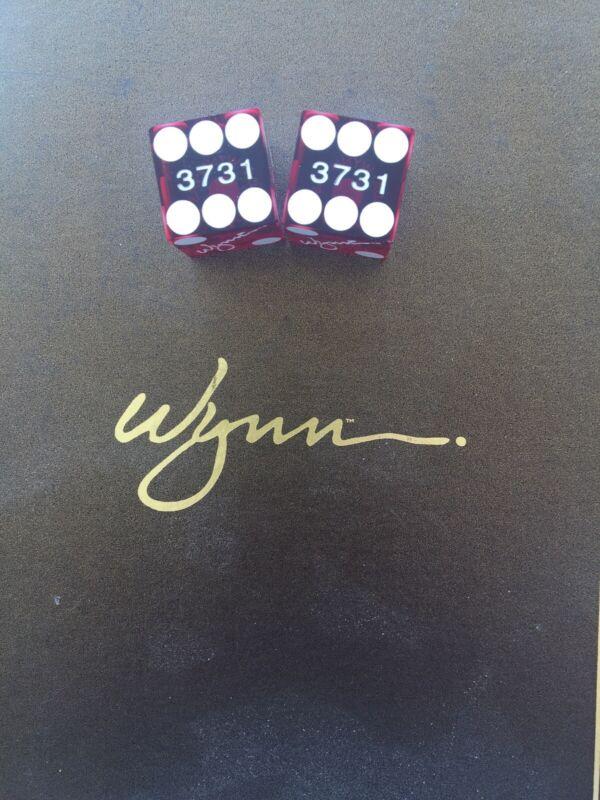 Wynn Casino Dice Pair
