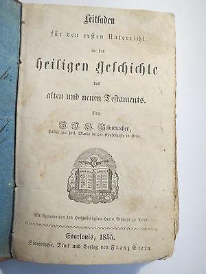 Schumacher - Leitfaden für den ersten Unterricht in der heiligen Geschichte 1855