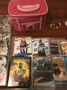 DVDs and a Box for Sale Perth Perth City Area Preview
