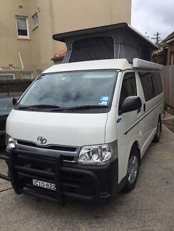 Toyota Hiace Camper Van 2012 Rose Bay Eastern Suburbs Preview
