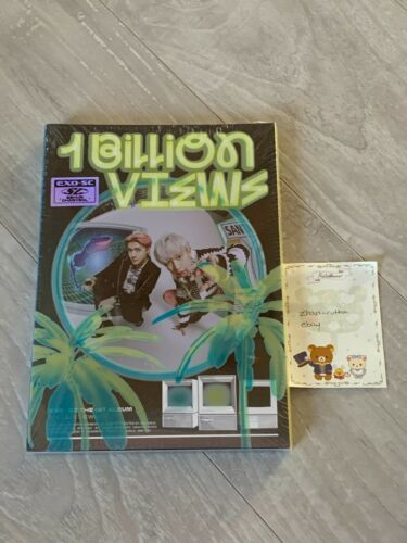 NEW SEALED EXO-SC 1 Billion Views 1BV Album Paradise Ver. w/ Photocard PC