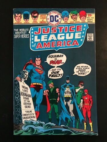 DC Justice League of America #122, 1975!