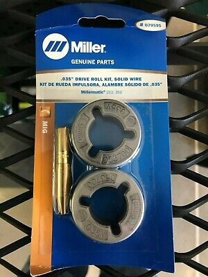 Miller .035 Drive Roll Kit For Millermatic 212 252 079595