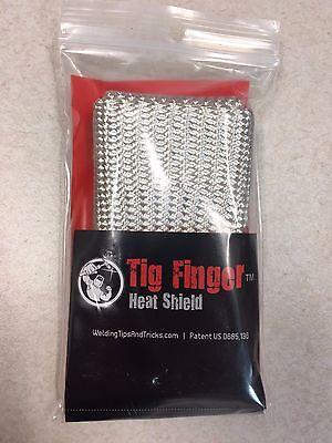 The Original Tig Finger Weld Monger Welding Glove Heat Shield Cover *FREE SHIP*