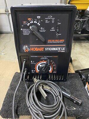 Hobart Stickmate Lx 235160 Acdc Stick Welder. Great Condition.