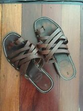 Leather sandals Burleigh Heads Gold Coast South Preview