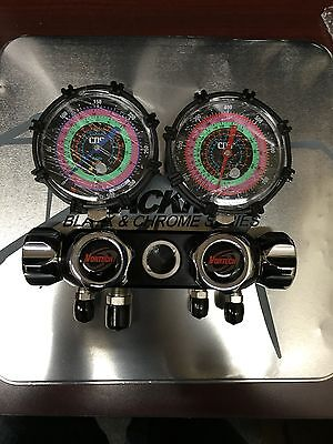 Cps 4v Manifold W60 Hoses Valves R134ar22404a410a - Mv4h4p5ez