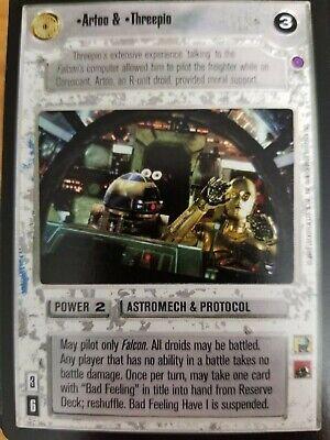 Star Wars CCG Reflections II Stinger NrMint-MINT SWCCG