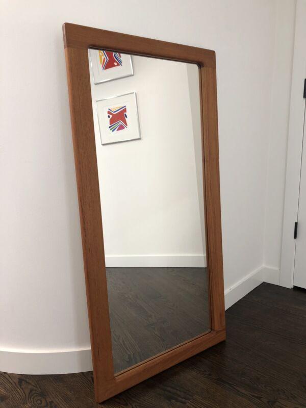 Mid Century Danish Teak Mirror