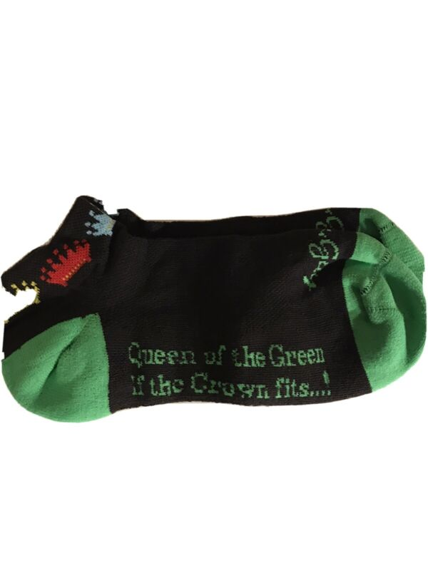 Giggle Golf Ladies Socks Golf Queen Of The Green
